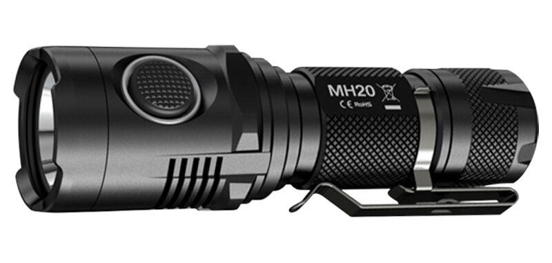 Lampe torche Nitecore MH20 - 1000 1000 - Lumens police militaire sécurité outdoor 7e686c