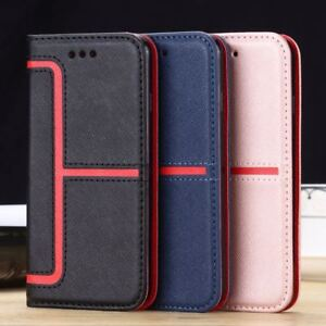 Case-Cover-For-Samsung-GalaxyA3-A5-2017-S9-S8-Magnetic-Wallet-Flip-Leather-Phone