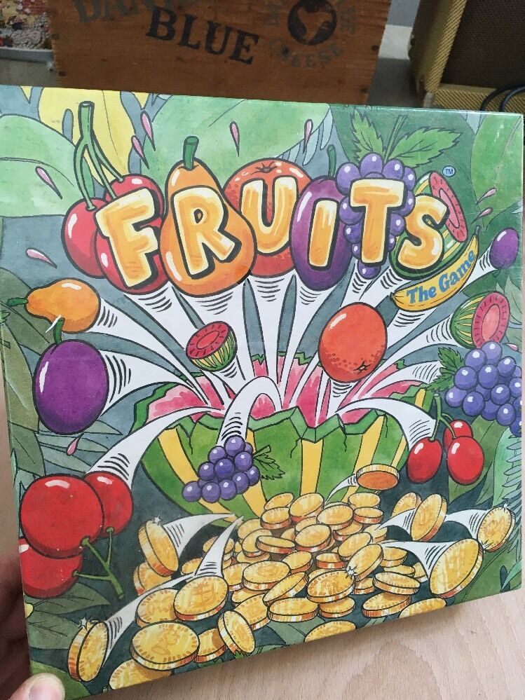 Fruits The Game Upstarts  Ipswich Board Game 1992 New+Sealed 2-6 Players Rare