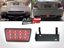 F1 Style LED Rear Fog Light Brake/Tail Lamp+Bracket For 15-16 Subaru WRX STi