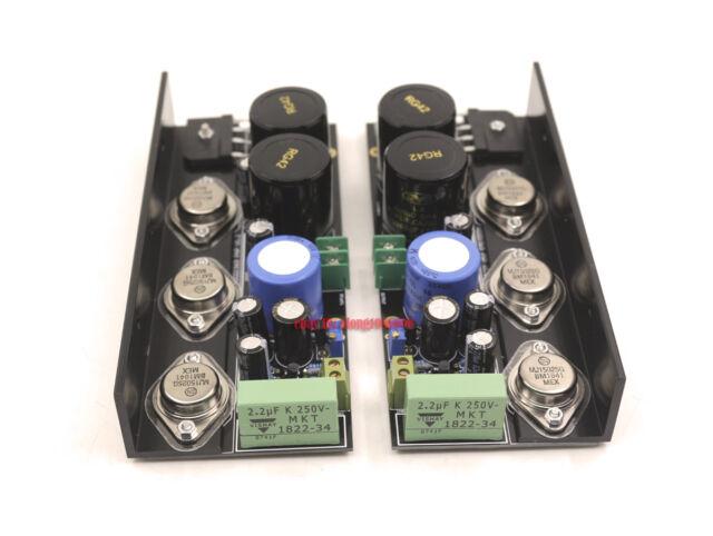 One Pair HD1969 Power Pure Class A Amplifier Kit Amp DIY Kit  25W+25W