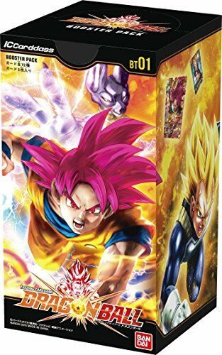 IC Cardass Dragon Ball first edition booster pack BOX BT01