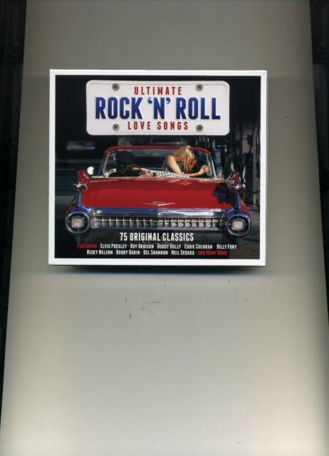 ULTIMATE ROCK 'N' ROLL LOVE SONGS - DION CLIFF EDDIE COCHRAN - 3 CDS - NEW!!