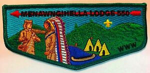 OA-MENAWNGIHELLA-550-BSA-MOUNTAINEER-AREA-WV-LODGE-CHIEF-APPRECIATION-FLAP-TOUGH