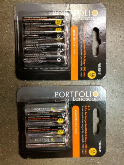 NiMH Portfolio AA 1.2-Volt Rechargeable Nickel Metal Hydride Landscape Lighting Batteries