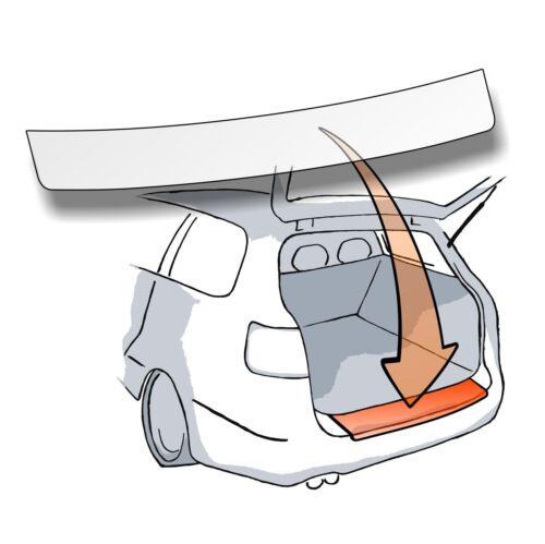 barniz lámina de protección parachoques tipo 356 Apto para Fiat typo para trasera escalonada