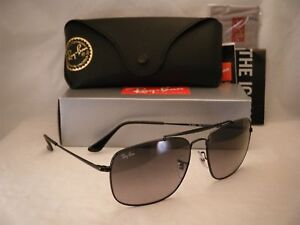 4864e7c888 Ray Ban COLONEL (RB3560-002 71 61) Black with Light Gray Gradient ...