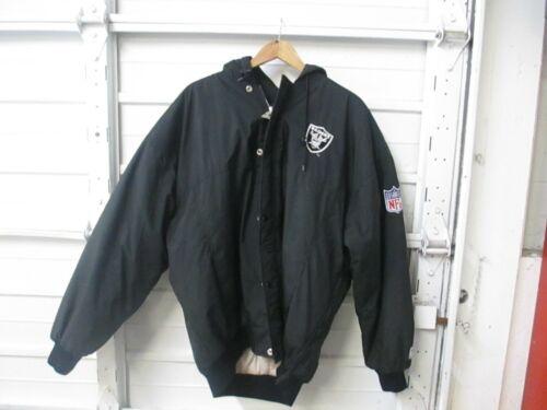 VTG USED Starter NFL Oakland Raiders Puffer Parka