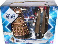 5 Doctor Who 10th Doctor (david Tennant), Crucible Dalek Action Figure Set