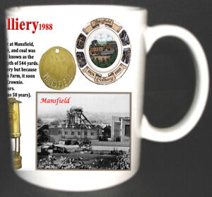 MANSFIELD-COLLIERY-COAL-MINE-MUG-LIMITED-EDITION-GIFT-MINER-NOTTINGHAMSHIRE-PIT