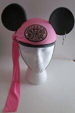 YOUTH Disney PIRATE PRINCESS Mickey MOUSE EARS CAP Hat GIRLS KIDS Hoop Earring