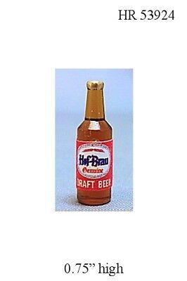 Bottle of Pilsner Beer Dollhouse Miniature Food 1:12 Scale Kitchen