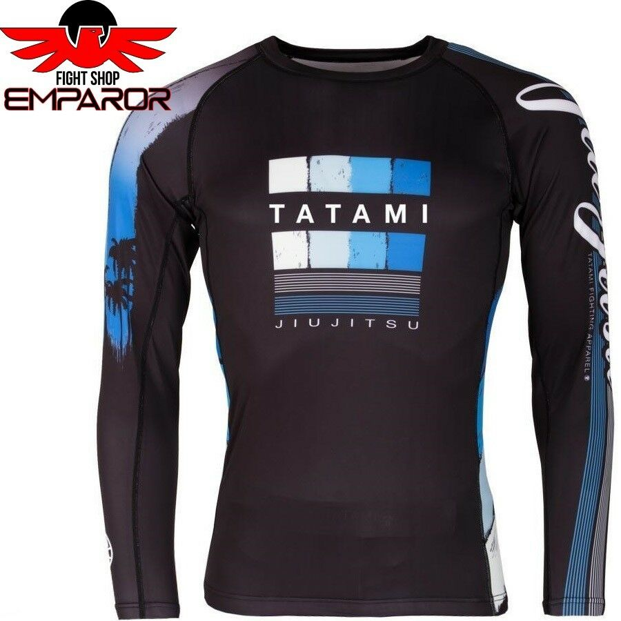 Tatami Rashguard go with the flow Rash Guard Mma Bjj Da Uomo Compressione SHIRT