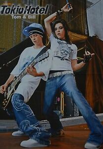 BILL-amp-TOM-KAULITZ-A3-Poster-ca-42-x-28-cm-Tokio-Hotel-Clippings-Sammlung