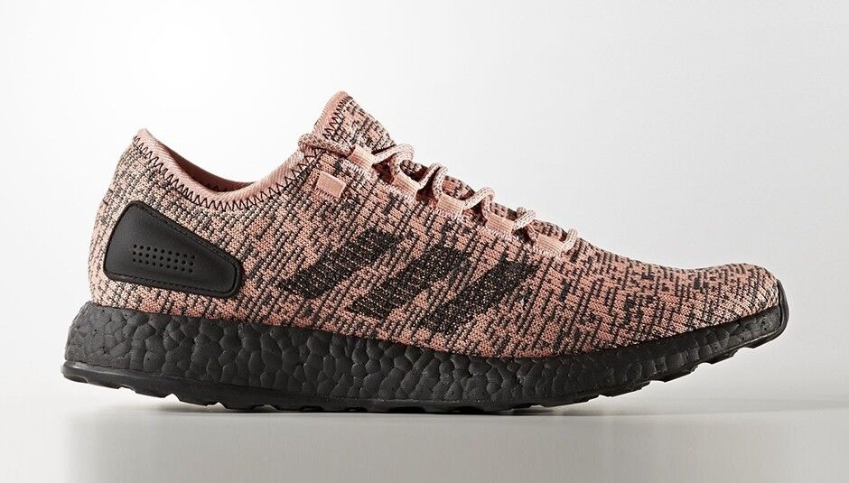 Adidas shoes PureBOOST Running Trace Pink Black CG2985 PERFORMANCE