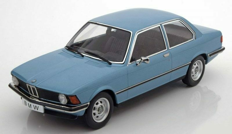 Bmw 318i E21 1975 bleu Metallic 1 18 Model KK SCALE