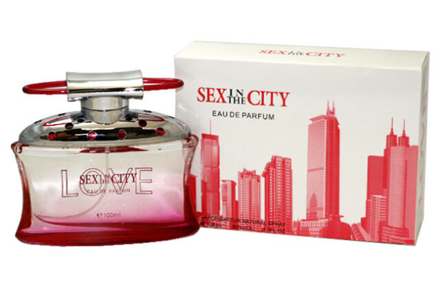 Sex in the city love perfume