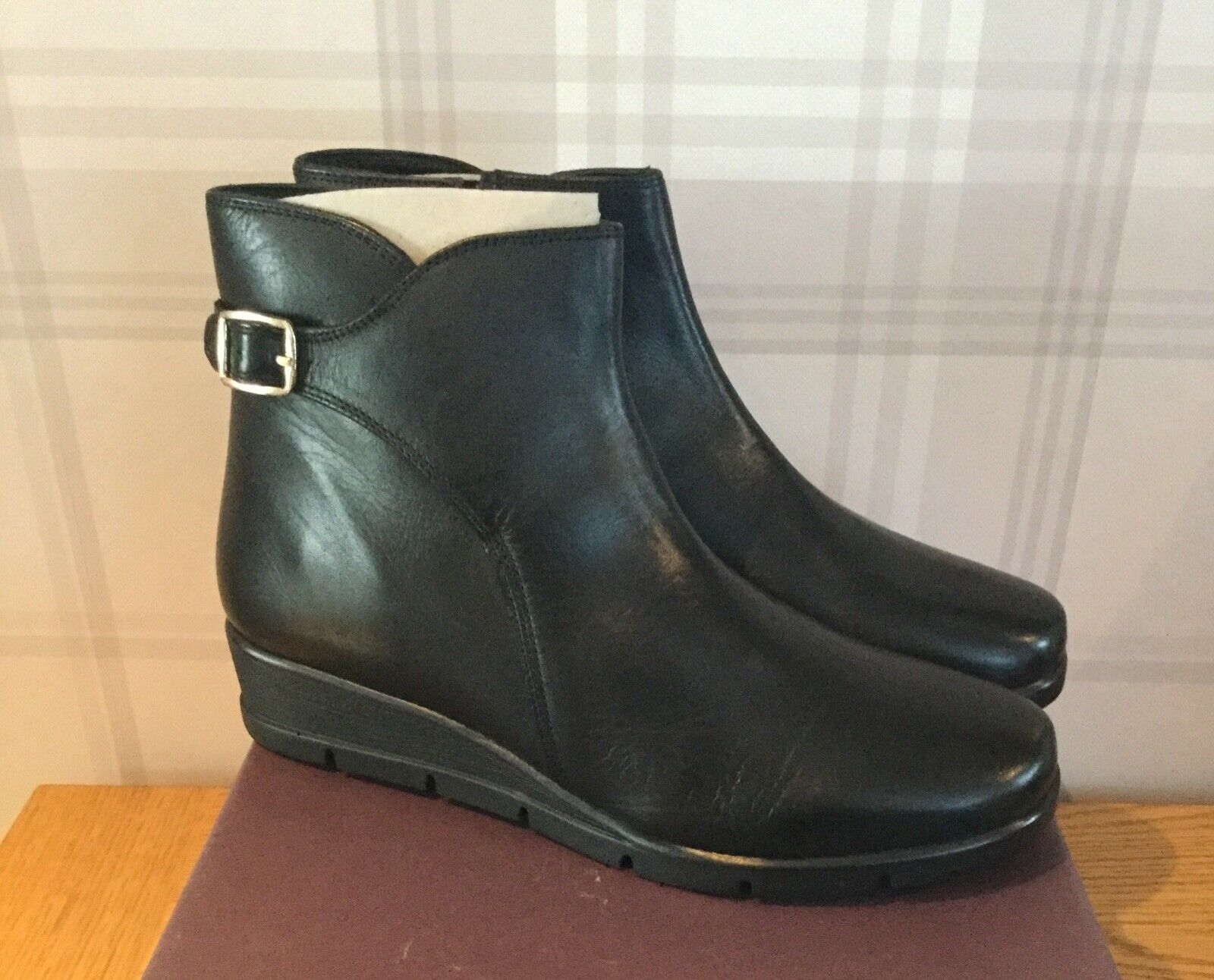 Nuevo Y En Caja carvela Rebecca Cuero Negro botas botas botas al Tobillo UK5 PVP  online al mejor precio