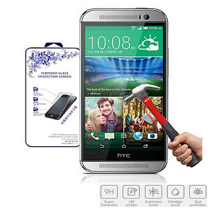 For-HTC-One-M8-New-Premium-Real-HD-Tempered-Glass-Film-Screen-Protector