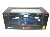 Ferrari Enzo Fxx Elite Blue 24 1/43 Diecast Model Car By Hotwheels N5606