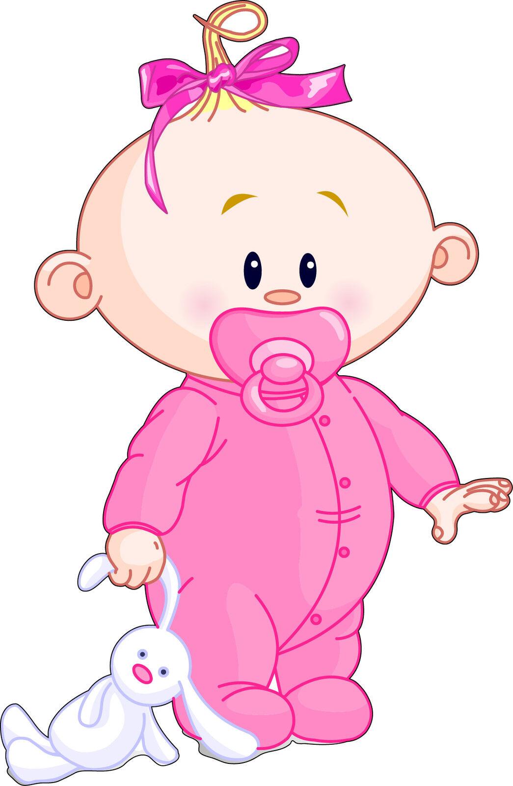 Aufkleber Kind Baby Mädchen Ref 2525 (Abmessungen der 10 cm 130 cm Höhe)