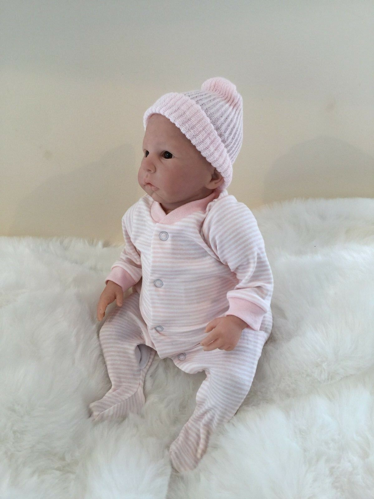 Melody Melody Melody by Laura Tuzio-Ross COA OOAK Reborn Fake Baby Realistic Doll Girl Lady d907e3