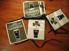 "GUINNESS BREWING Co St James's Gate Ireland ~ NEW ~ 12"" X 14"" Banner Flags 19'"