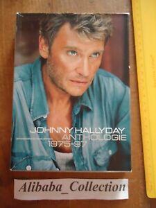 Lote-Estuche-2CD-DVD-Raro-Johnny-Hallyday-Antologia-1975-1997