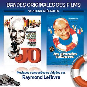 LOUIS-DE-FUNES-RAYMOND-LEFEVRE-BOF-JO-LES-GRANDES-VACANCES-CD