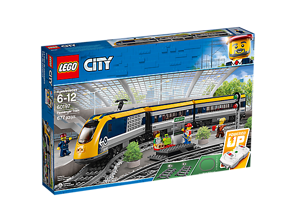 LEGO CITY 60197 Treno passeggeri IMBALLATO