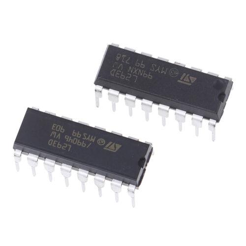 5Pcs Push-Pull four-channel motor driver IC ST L293D L293 DIP16/' J DD