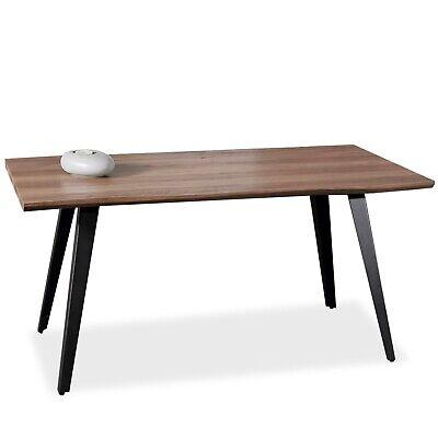 Mesa de comedor rectangular, mesa industrial patas metalicas para salon, Branch