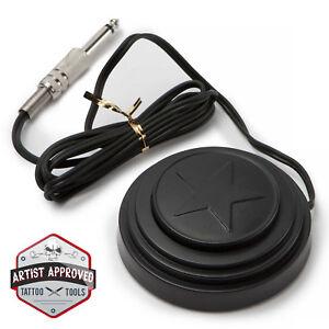 Tattoo Machine Power Supply Foot Pedal Switch Star - Black
