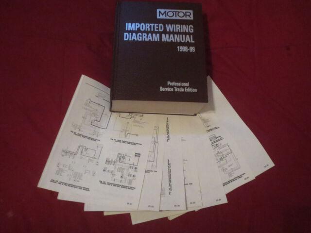 1998 1999 toyota corolla wiring diagrams schematics set  ebay