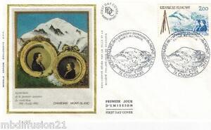 1986-ENVELOPPE-SOIE-FDC-1-JOUR-ASCENSION-MONT-BLANC-TIMBRE-Y-T-2422