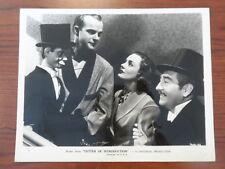 "1938 ""LETTER OF INTRODUCTION"" ANREA LEEDS ADOLPHE MENJOU EDGAR BERGEN 8X10 PHOTO"