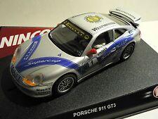 Ninco 1:32 Porsche 911 GT3  Supercup (Plata) 50187 NEU