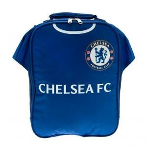 Chelsea Boys School Lunch Bag Box Childrens Kids Blue *Personalised* CF02