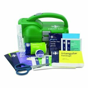 First-Aid-Medical-Kit-Torch-Box-Travel-Car-Camping-Van-Portable-Emergency