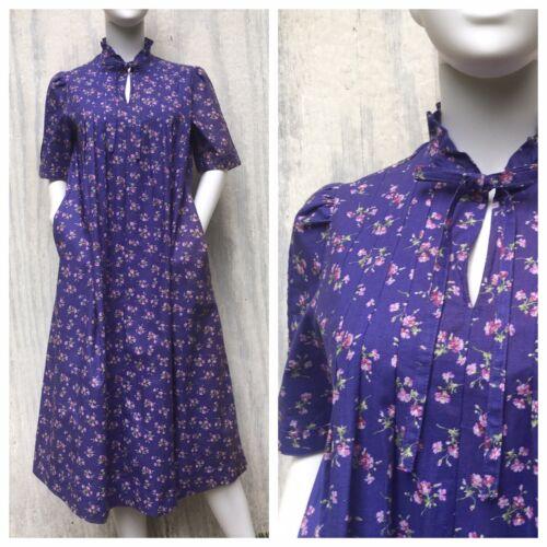 Dress Prairie Vintage LAURA ASHLEY Carno Wales 80s