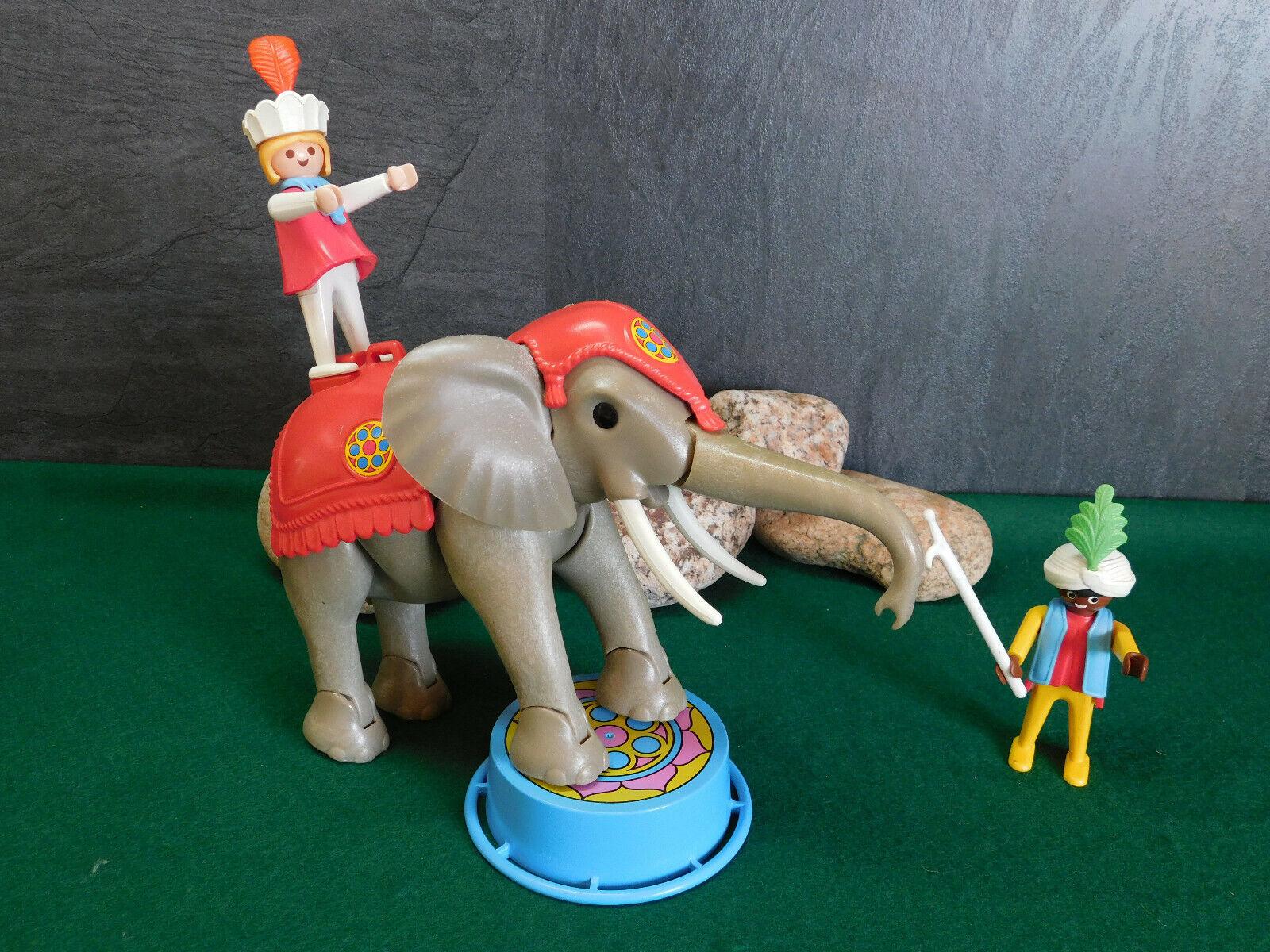 Playmobil Rarität Großer Zirkus-Elefant 3711-A 1988 ohne OVP