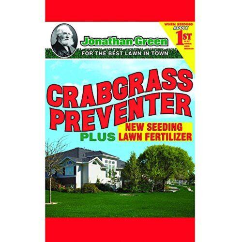 15... Jonathan Green 10465 Crabgrass Preventer Plus New Seeding Lawn Fertilizer