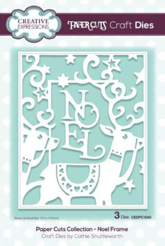 Your choice Creative Expressions PAPERCUTS CHRISTMAS DIE COLLECTION 2018