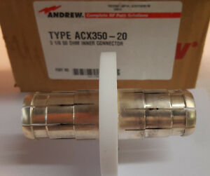 ANDREW-ACX350-20-3-125-034-50-OHM-Inner-Connector-3-1-8-034-50ohm