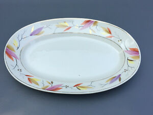 Antique-late-Aesthetic-Movement-J-B-China-Co-ceramic-plater-1870-039-s-1880-039-s