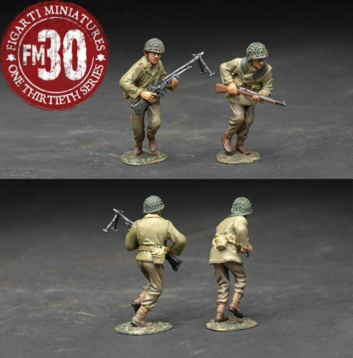 FIGARTI PEWTER WW2 AMERICAN ETA-044 U.S. INFANTRY FILL THE GAP MIB