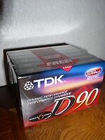 TDK (D90S6F) Audio Cassette (Type 1)