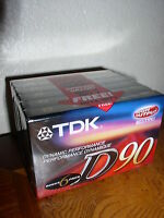 TDK (D90S6F) Audio Cassette (Type 1)