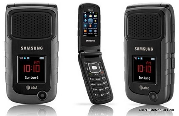Samsung Rugby II SGH-A847 - Black (AT&T) Cellular Phone