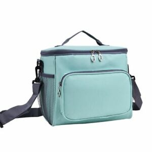 Women-039-s-Lunch-Bag-With-Shoulder-Strap-Soft-Cooler-Food-Box-Tote-Sport-Bags-Tools